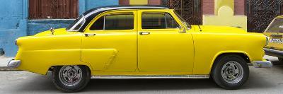 Cuba Fuerte Collection Panoramic - Yellow Taxi of Havana