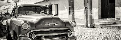 Cuba Fuerte Collection Panoramic BW - Cuban Chevy