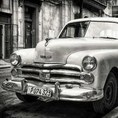 Cuba Fuerte Collection SQ BW - Dodge Classic Car