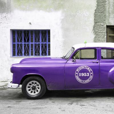 Cuba Fuerte Collection SQ - Purple Pontiac 1953 Original Classic Car
