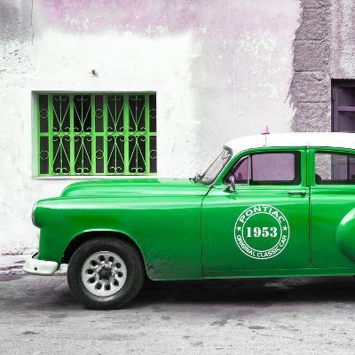 Cuba Fuerte Collection SQ - Green Pontiac 1953 Original Classic Car