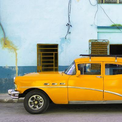Cuba Fuerte Collection SQ - Havana Classic American Orange Car
