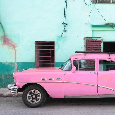 Cuba Fuerte Collection SQ - Havana Classic American Pink Car