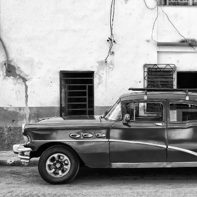 Cuba Fuerte Collection SQ BW - Havana Classic American Car