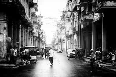 Cuba Fuerte Collection B&W - Old Havana Street