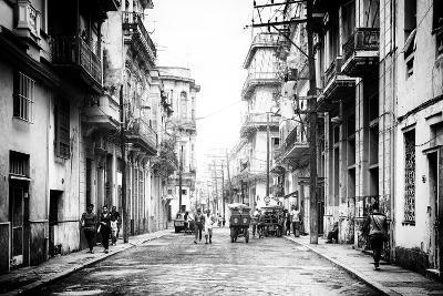 Cuba Fuerte Collection B&W - Old Havana Street III