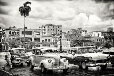 Cuba Fuerte Collection B&W - Vintage American Cars