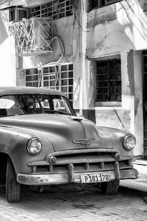 Cuba Fuerte Collection B&W - Chevrolet Classic Car IV