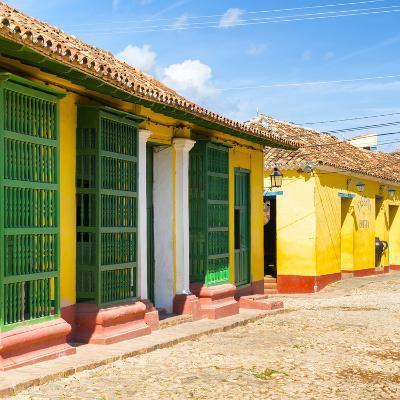 Cuba Fuerte Collection SQ - Yellow Facades in Trinidad