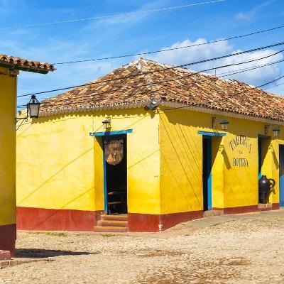 Cuba Fuerte Collection SQ - Yellow Facades in Trinidad III
