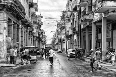 Cuba Fuerte Collection B&W - Old Havana Street II