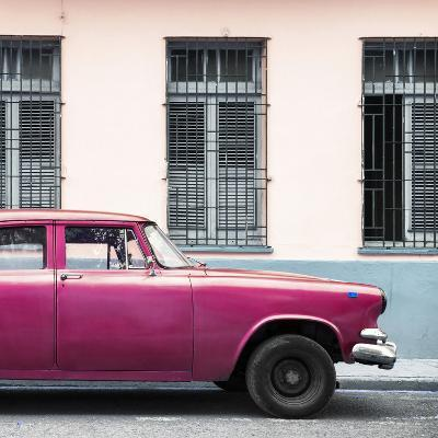 Cuba Fuerte Collection SQ - Close-up of Pink Car