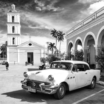 Cuba Fuerte Collection SQ BW - Main square of Santa Clara II