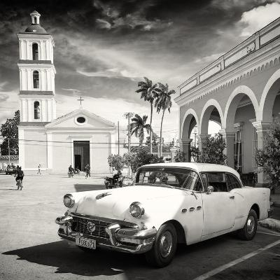 Cuba Fuerte Collection SQ BW - Main square of Santa Clara