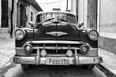 Cuba Fuerte Collection B&W - Retro Taxi III