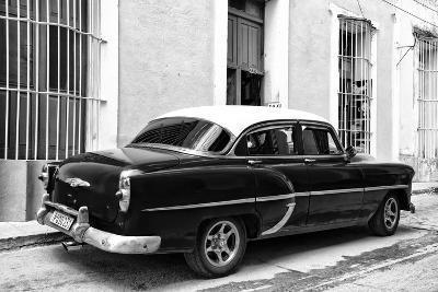 Cuba Fuerte Collection B&W - Retro Taxi II