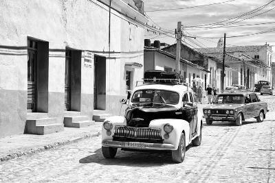 Cuba Fuerte Collection B&W - Classic Cars Taxis II