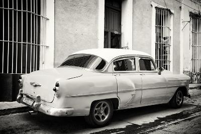 Cuba Fuerte Collection B&W - Retro Taxi