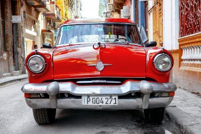 Cuba Fuerte Collection - Red Taxi of Havana