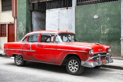 Cuba Fuerte Collection - Red Chevy
