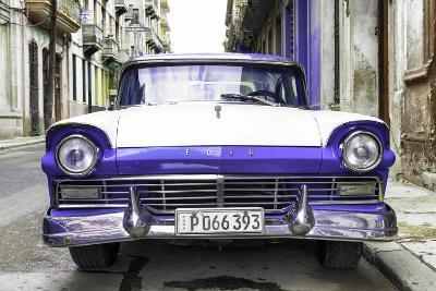 Cuba Fuerte Collection - Old Ford Purple Car