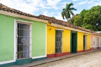 Cuba Fuerte Collection - Colorful Street Scene in Trinidad II