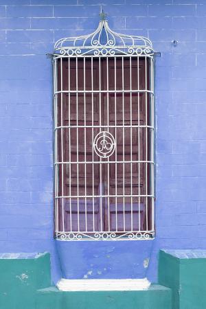 Cuba Fuerte Collection - Colorful Cuban Window VI
