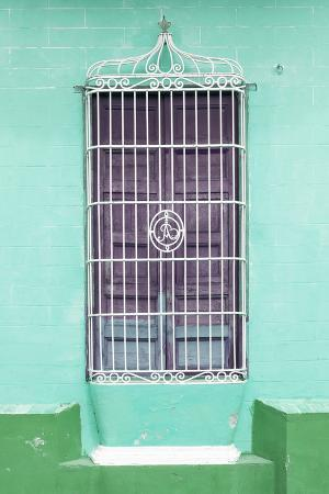 Cuba Fuerte Collection - Colorful Cuban Window IV