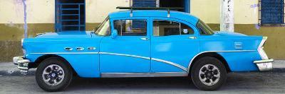 Cuba Fuerte Collection Panoramic - Havana Classic American Blue Car