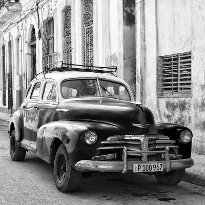 Cuba Fuerte Collection SQ BW - Old Chevrolet in Havana II