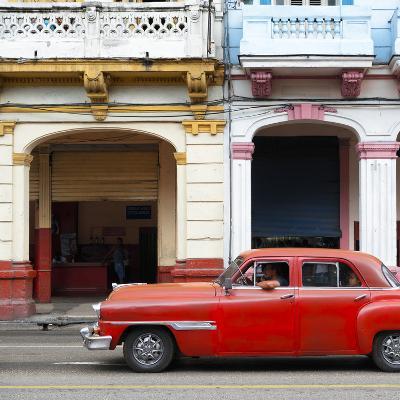 Cuba Fuerte Collection SQ - Havana Red Car