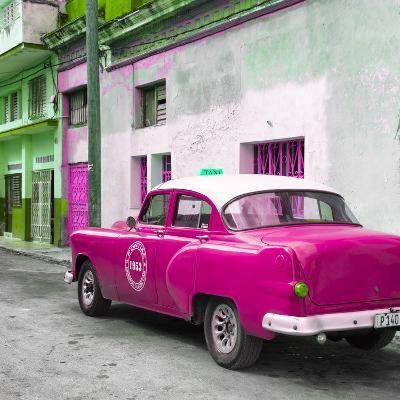 Cuba Fuerte Collection SQ - Pink Taxi Pontiac 1953
