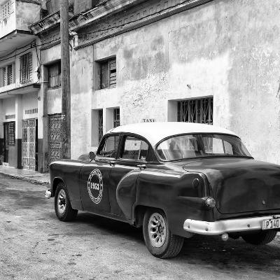 Cuba Fuerte Collection SQ BW - Old Taxi Pontiac 1953