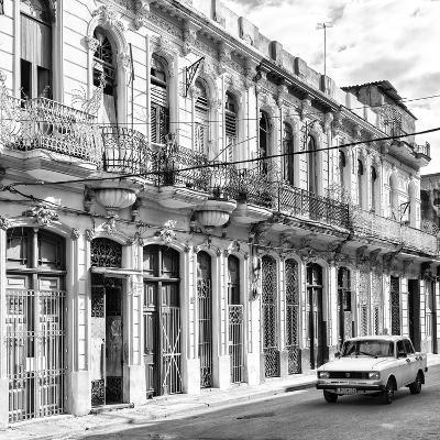 Cuba Fuerte Collection SQ BW - Cuban Facades in Havana