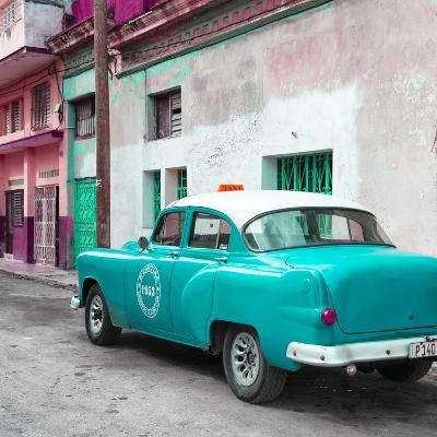 Cuba Fuerte Collection SQ - Turquoise Taxi Pontiac 1953