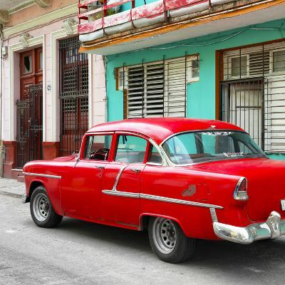 Cuba Fuerte Collection SQ - Old Cuban Red Car