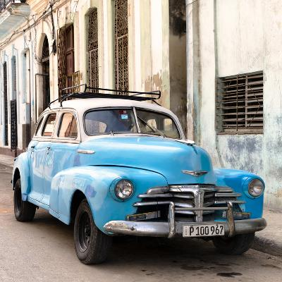 Cuba Fuerte Collection SQ - Old Blue Chevrolet in Havana
