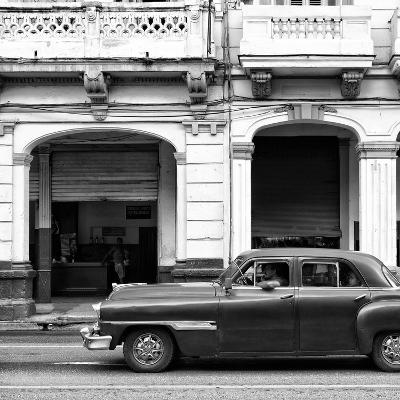 Cuba Fuerte Collection SQ BW - Havana Red Car