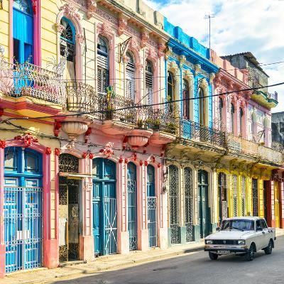 Cuba Fuerte Collection SQ - Colorful Facades in Havana