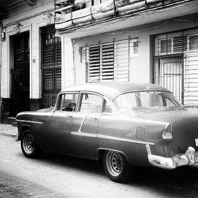 Cuba Fuerte Collection SQ BW - Old Cuban Car