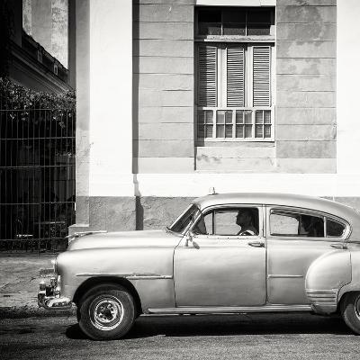Cuba Fuerte Collection SQ BW - Old Taxi