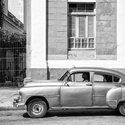 Cuba Fuerte Collection SQ BW - Old Taxi II