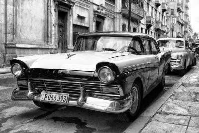 Cuba Fuerte Collection B&W - Vintage Cuban Ford IV