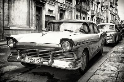 Cuba Fuerte Collection B&W - Vintage Cuban Ford III