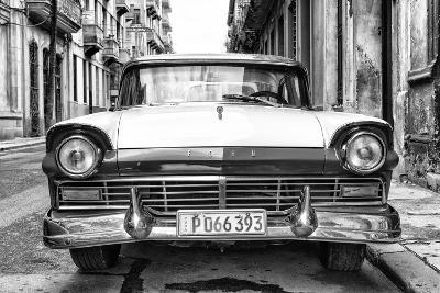Cuba Fuerte Collection B&W - Vintage Cuban Ford II