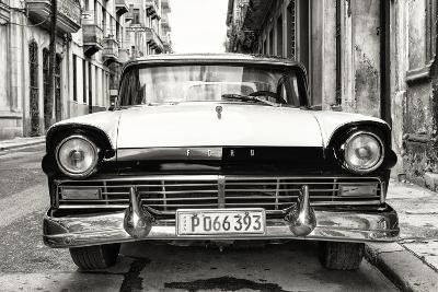 Cuba Fuerte Collection B&W - Vintage Cuban Ford