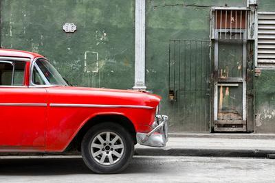 Cuba Fuerte Collection - 615 Street and Red Car