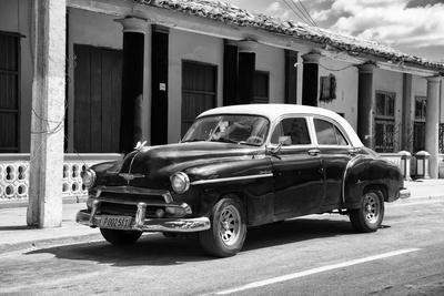 Cuba Fuerte Collection B&W - Chevy Deluxe II