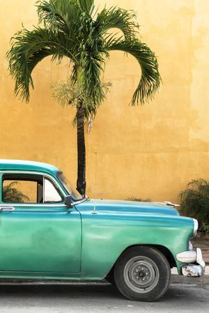 Cuba Fuerte Collection - Close-up of Beautiful Retro Green Car