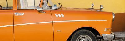 Cuba Fuerte Collection Panoramic - Close-up of Retro Orange Car